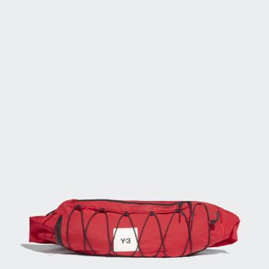 Y-3 Red Y-3 Crossbody Sling Bag