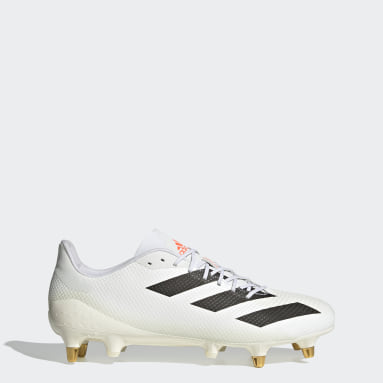 Rugby White Rugby Adizero RS7 SG Tokyo Boots