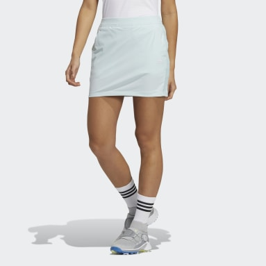 Women Golf Green Primeblue 3-Stripes Skort