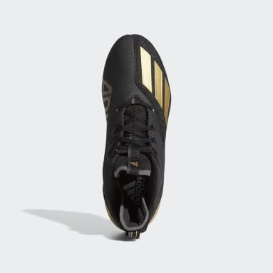 Men's Football Gold Adizero Scorch Football Cleats