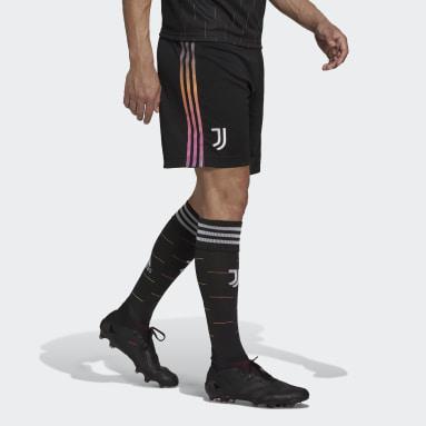 Futbal čierna Šortky Juventus 21/22 Away