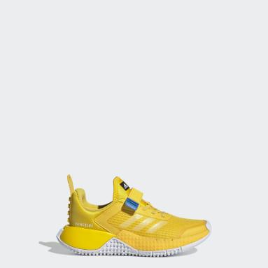 Barn Löpning Gul adidas x Classic LEGO® Sport Shoes