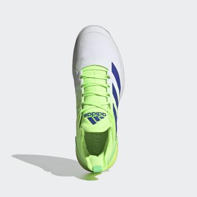 Tennis Green Adizero Ubersonic 4 Tennis Shoes