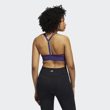 Women's Yoga Burgundy All Me Light Support Training Bra