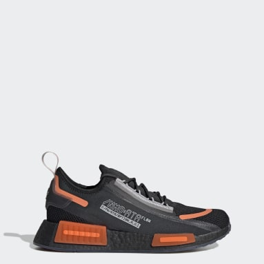 ผู้ชาย Originals สีดำ รองเท้า NMD_R1 Spectoo