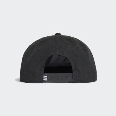 Field Hockey Black Snapback Cap