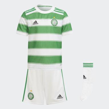 Divisa Mini Home 21/22 Celtic FC Bianco Bambini Calcio