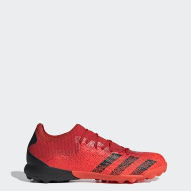 ผู้ชาย ฟุตบอล สีแดง รองเท้าฟุตบอล Predator Freak.3 Turf