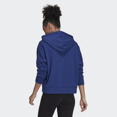 Sweat-shirt à capuche adidas Sportswear Future Icons Bleu Femmes Sportswear