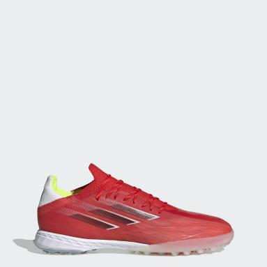 Calzado de Fútbol X Speedflow.1 Pasto Sintético Rojo Fútbol