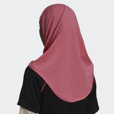 Women Trail Running Pink Sport Hijab