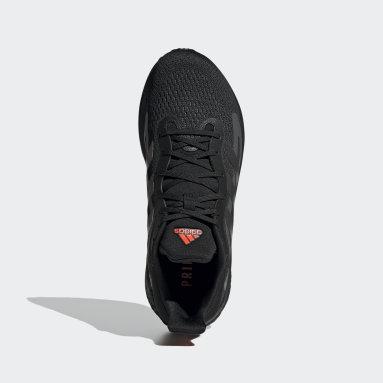 Erkek Koşu Siyah SolarGlide 4 Ayakkabı