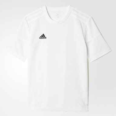 Youth Soccer White Squadra 17 Jersey