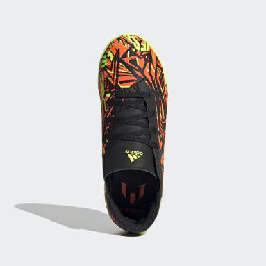 Boys Football Orange Nemeziz Messi.4 Indoor Boots