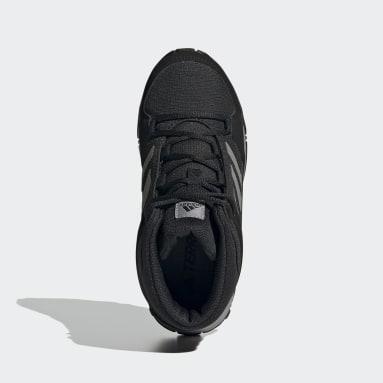 Children TERREX Black Terrex Hyperhiker Hiking Shoes