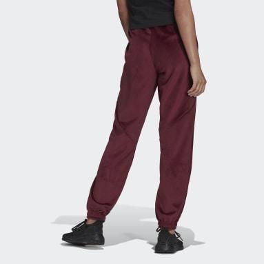 Women Sportswear Burgundy adidas Sportswear Future Icons Corduroy Joggers