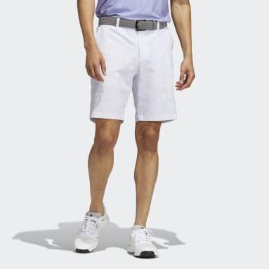 Men Golf Purple Ultimate365 Primegreen Print Shorts