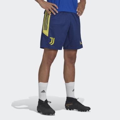 Pantalón corto entrenamiento Juventus Condivo Azul Hombre Fútbol