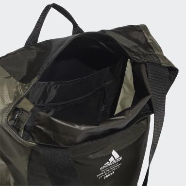 Mochila Classic Flap Top Shopper Verde Gimnasio Y Entrenamiento