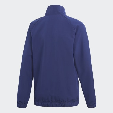 Barn Gym & Träning Blå Core 18 Presentation Jacket