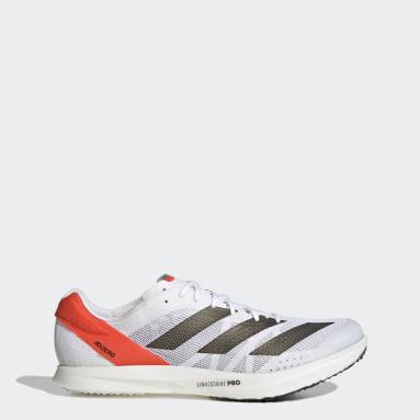 Leichtathletik Adizero Avanti Tokyo Spike-Schuh Weiß