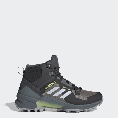 Women TERREX Grey Terrex Swift R3 Mid GORE-TEX Hiking Shoes