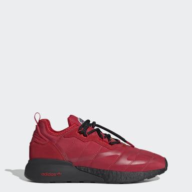 Originals rood ZX 2K Boost Schoenen