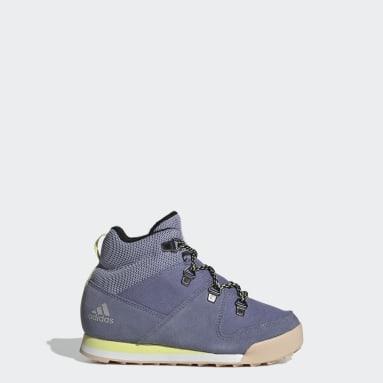 Børn Walking Lilla Terrex Climawarm Snowpitch Winter sko