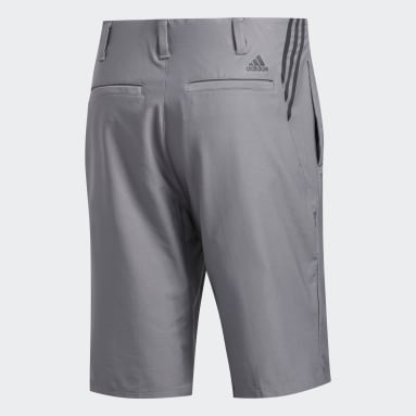 Men's Golf Grey Ultimate365 3-Stripes Competition Shorts