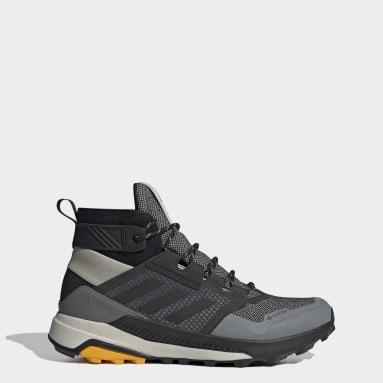 Men's TERREX Grey Terrex Trailmaker Mid GORE-TEX Hiking Shoes