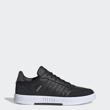 Men Sport Inspired Black Courtmaster Shoes