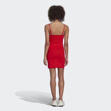 Kvinder Originals Rød Corset kjole