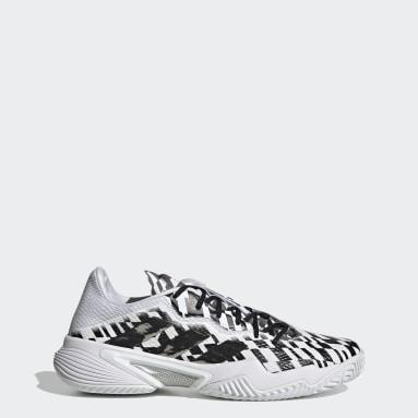 Men Tennis White Barricade Hardcourt Tennis Shoes