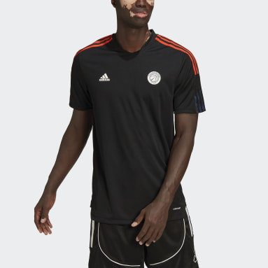 Men Basketball Black Paris Basketball Training Tee