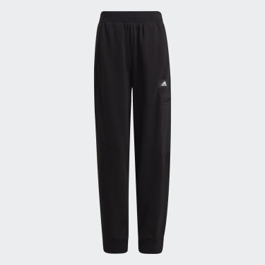 Boys Gym & Training Black ARKD3 Tapered French Terry Joggers