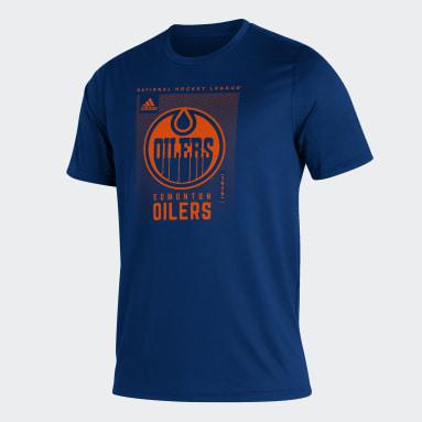 Men Hockey Blue Oilers Creator Tee