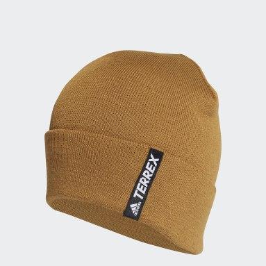 коричневый Шапка-бини Terrex Primegreen