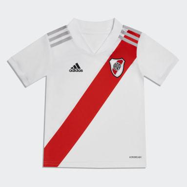 Minikit Uniforme Local River Plate 20/21 (UNISEX) Blanco Niño Fútbol
