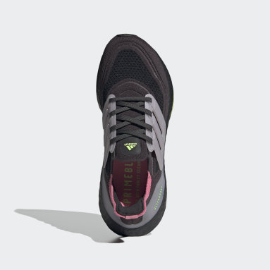 Women Running Grey Ultraboost 21 Shoes