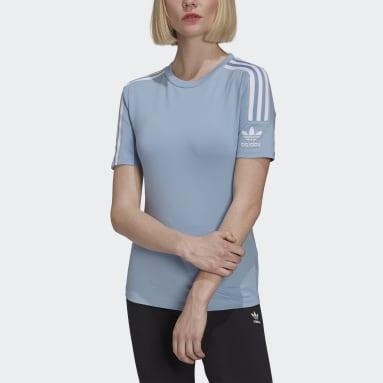 Camiseta Tight Azul Mujer Originals