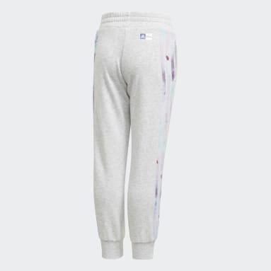 Girls Training Grey Frozen Pants