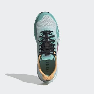 Γυναίκες TERREX Πράσινο Terrex Agravic Ultra Trail Running Shoes