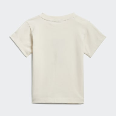 Graphic No-Dye Organic Cotton Tee Bialy