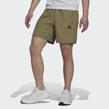 Shorts AEROREADY Designed 2 Move Tejidos Sport Verde Hombre Training
