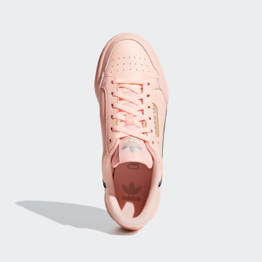 Youth Originals Pink Continental 80 Shoes