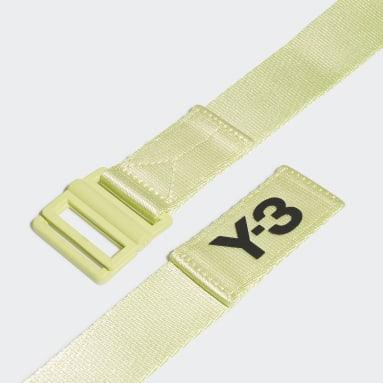 Ceinture Y-3 Classic Logo Jaune Y-3