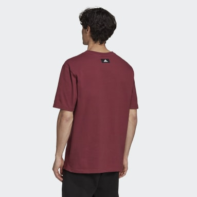 T-shirt adidas Sportswear Future Icons Logo Graphic Bordeaux Hommes Sportswear