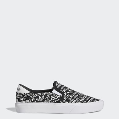 Originals Black Court Rallye Slip Shoes