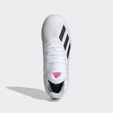 Kids Futsal White X 19.3 Indoor Boots