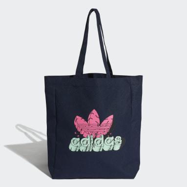 Bolsa Shopper Estampada Azul Originals
